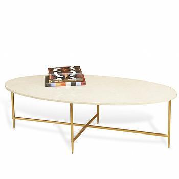 Ashlyn Cocktail Table in Cream design by Interlude Home I Burke Decor