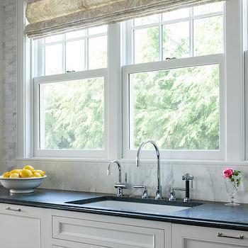 Three Windows Over Kitchen Sink Design Ideas