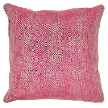 Textured Hues Pillow in Berry design by Villa Home I Burke Decor