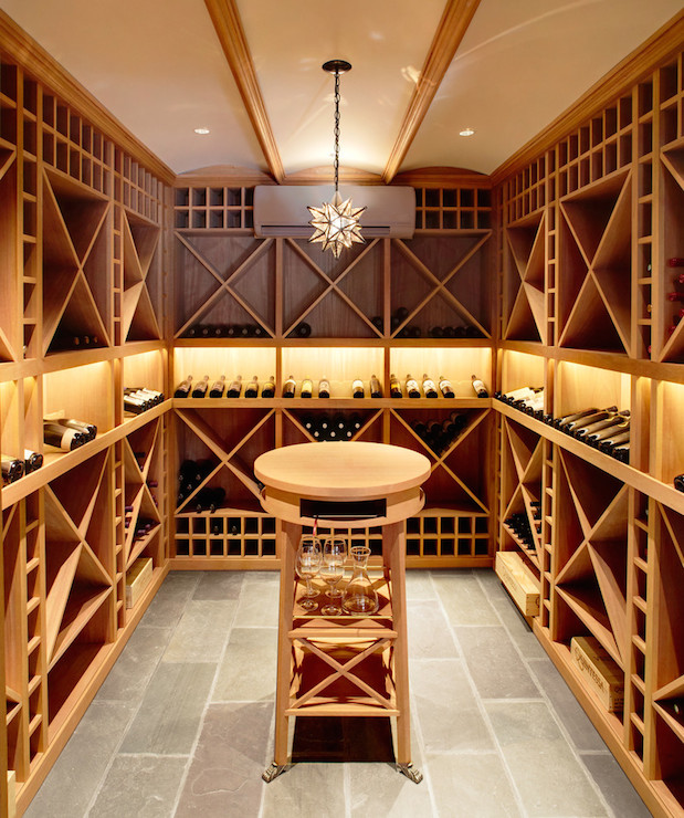 Basement wine cellar ideas design ideas for Wine cellar in floor