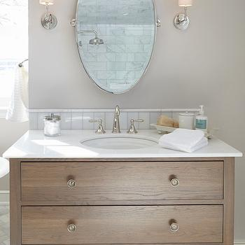 transitional bathroom. Black Bedroom Furniture Sets. Home Design Ideas