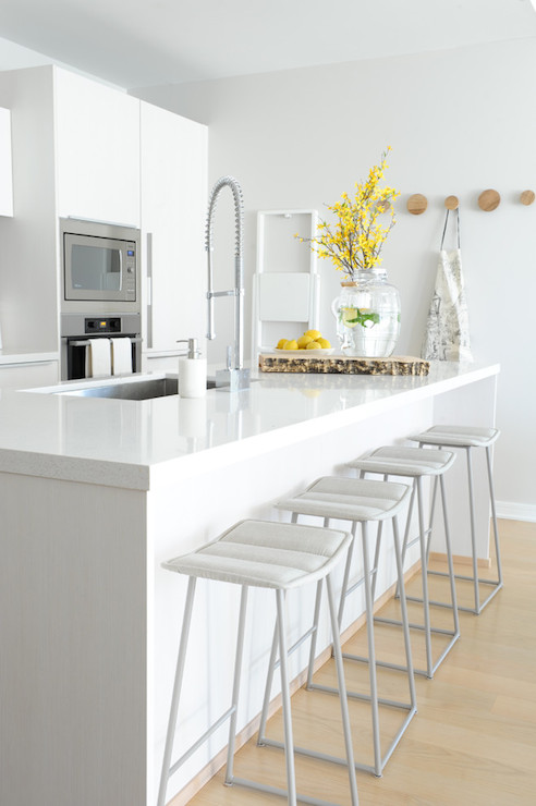 Magnificent Modern White Kitchen Ideas Modern Kitchen Benjamin Gmtry Best Dining Table And Chair Ideas Images Gmtryco
