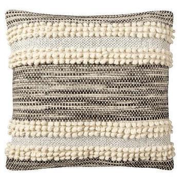 Nate Berkus Metallic Textured Pillow I Target