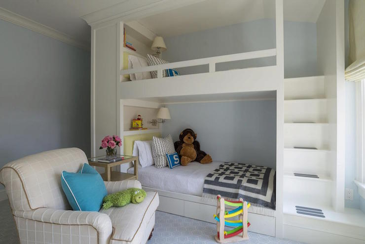 Bunk Bed With Built In Dresser Design Ideas