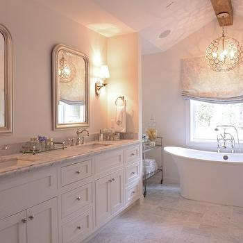 Currey and Company Tartufo Chandelier, Transitional, Bathroom, Munger Interiors