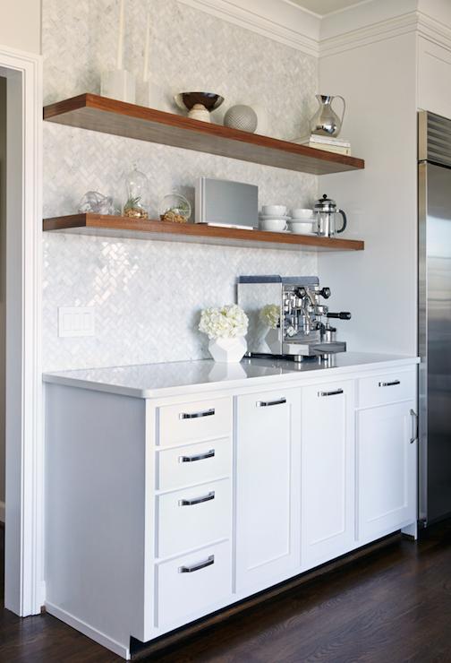 kitchen with herringbone pattern tiles contemporary kitchen beth