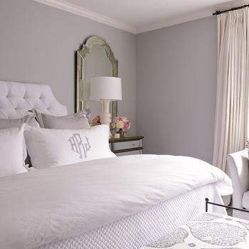 Grey Master Bedroom Ideas, Traditional, Bedroom, Munger Interiors