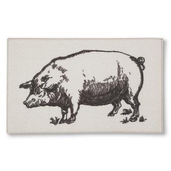 Threshold Pig Kitchen Rug I Target