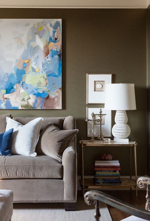 Living Rooms With Dark Brown Couches