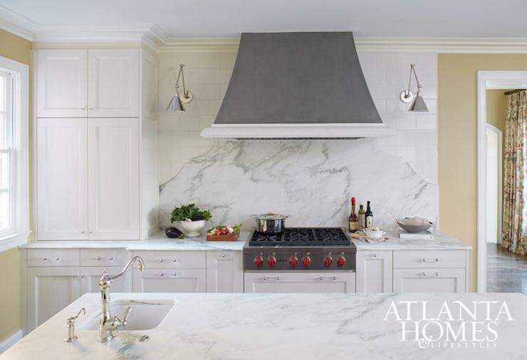 Lights Behind Kitchen Hood