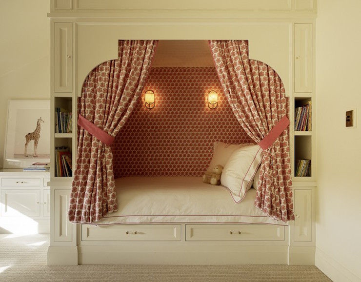 Bed alcove design ideas for Bed nook ideas