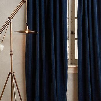 Hand-Embroidered Charente Curtain I Anthropologie