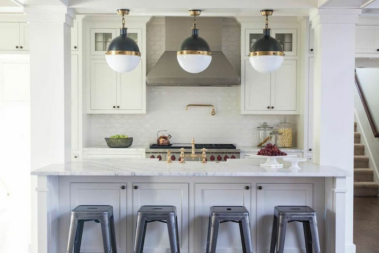 Kitchen Island Columns