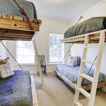 Floating Beds, Cottage, Boy's Room, HAR
