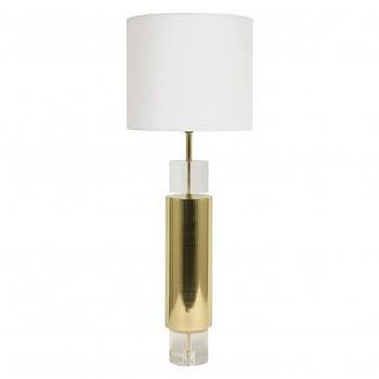 Modern brass table lamp products bookmarks design inspiration harding gold table lamp aloadofball Gallery