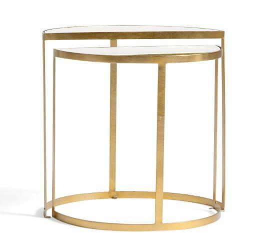 Alistar Gold Accent Table View Full Size