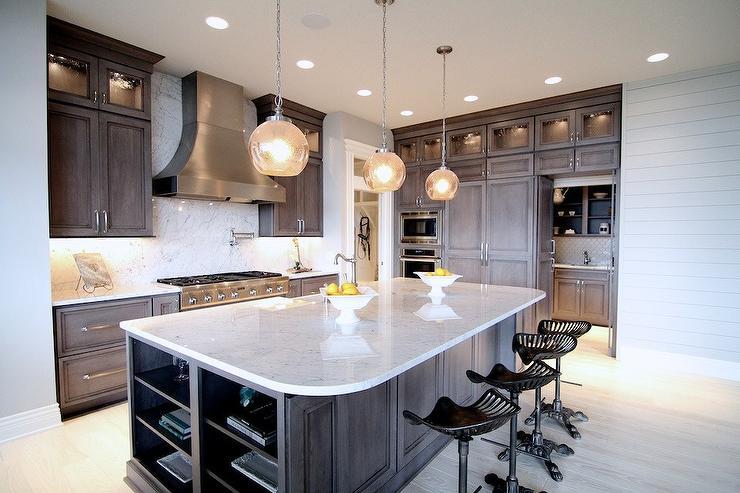 Kitchen With White Granite Countertops Kitchen Neighborhood Builders