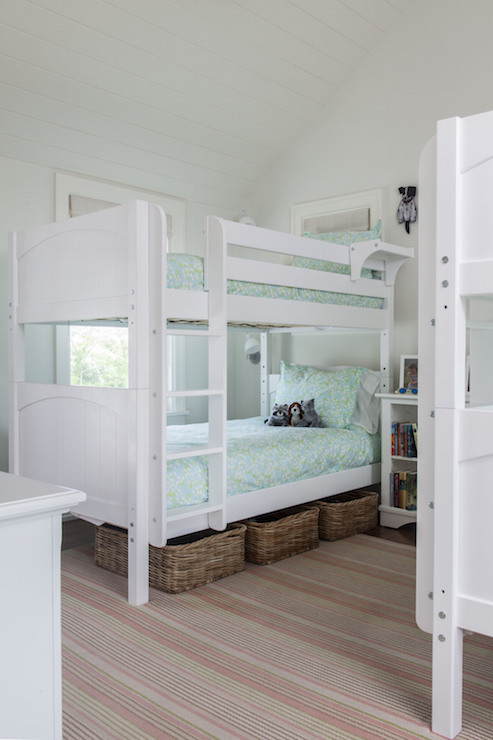 Bunk Beds Designs For Kids Rooms: Kids Room With 2 Bunk Beds