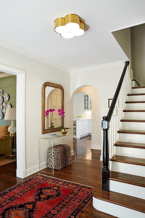 Cheetah Print Stair Carpet Design Ideas