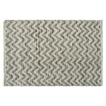 Cream/Brown Chevron Rug I Target