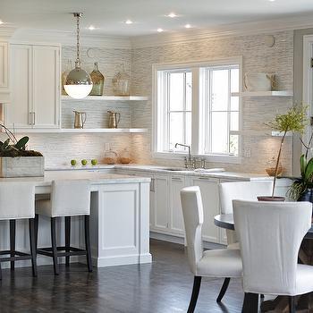 Full Height Kitchen Backsplash, Transitional, Kitchen, Vita Design Group
