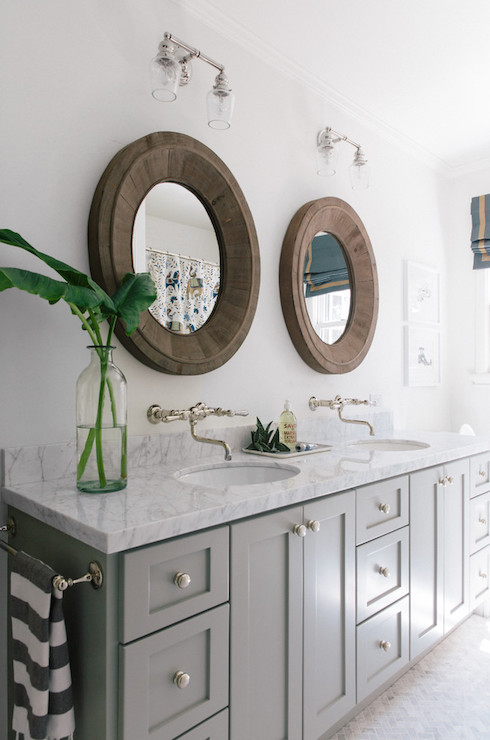 Salvaged Wood Vanity Design Ideas