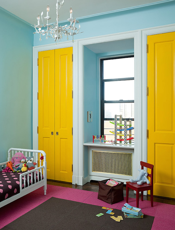 Yellow Doors - Contemporary - Boy\'s Room - Anik Pearson Architect