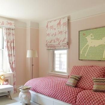Kids Room with Built In Bed, Transitional, Girl's Room, Anik Pearson Architect