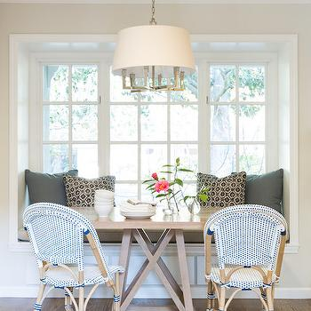 Banquette Window Seat Nook