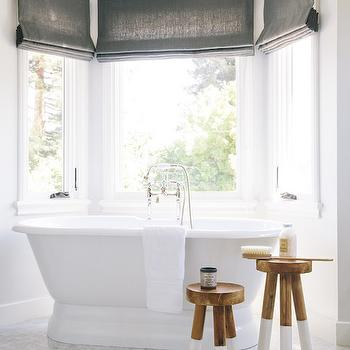 Bay Window In Bathroom Design Ideas