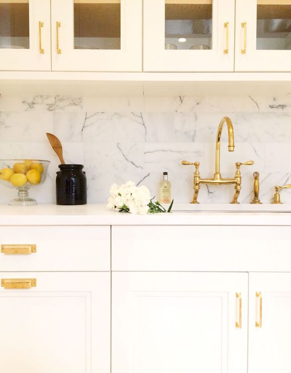 with Gold Accents, Transitional, Kitchen, Kapito Muller Interior