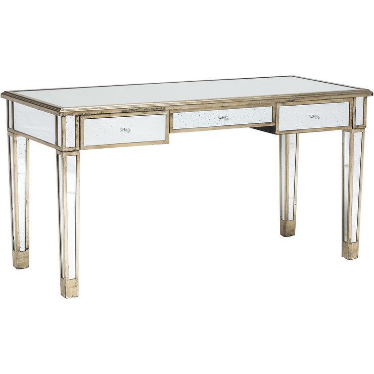 - Jasmine Antique Gold Desk