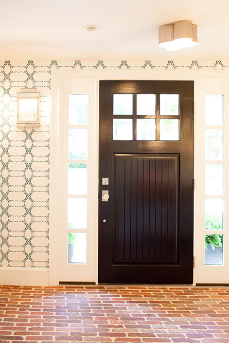 Entry Door Sidelights Design Ideas