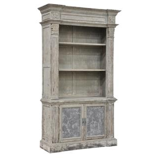 Chael Distressed Pine Bookcase, Overstock.com
