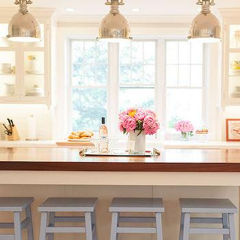 Kitchen with Glass Front Cabinets, Transitional, Kitchen, Delicious Designs