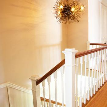 Staircase Photo Wall Ideas - Transitional - entrance/foyer - Bria ...