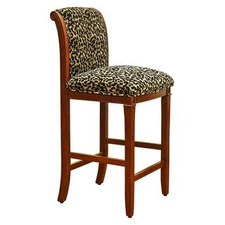 Leopard Animal Print Bar Stool Overstock Com