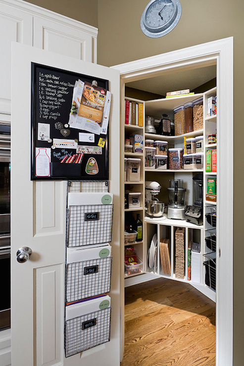 Corner Kitchen Pantry Design Ideas