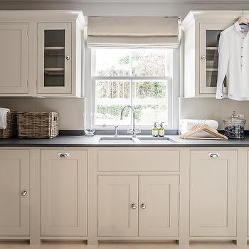 Laundry Room with Ivory Cabinets, Traditional, Laundry Room, Sims Hilditch