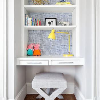 Floating Kids Desk, Contemporary, Boy's Room, Clean Design Partners