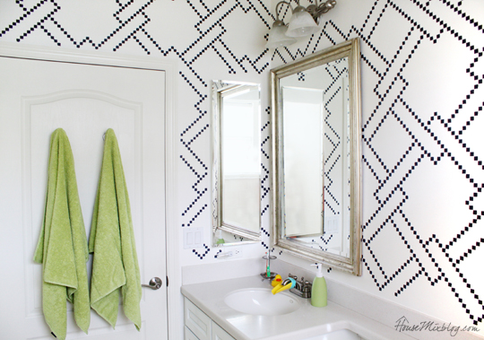 Painting Geometric Patterns On Walls Contemporary