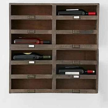 Chester Wine Rack Shelf I Urban Outfitters