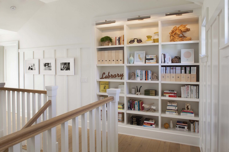 Built in bookcase design ideas - Contemporary built in bookshelves ...