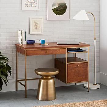Grasshopper Brown Desk