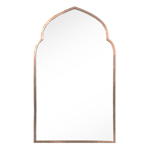 Mirror image home pointed arch gold mirror look for less for Decorative mirrors for less