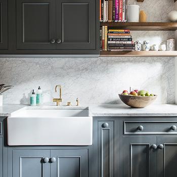 dark gray kitchen cabinets - Charcoal Grey Kitchen Cabinets