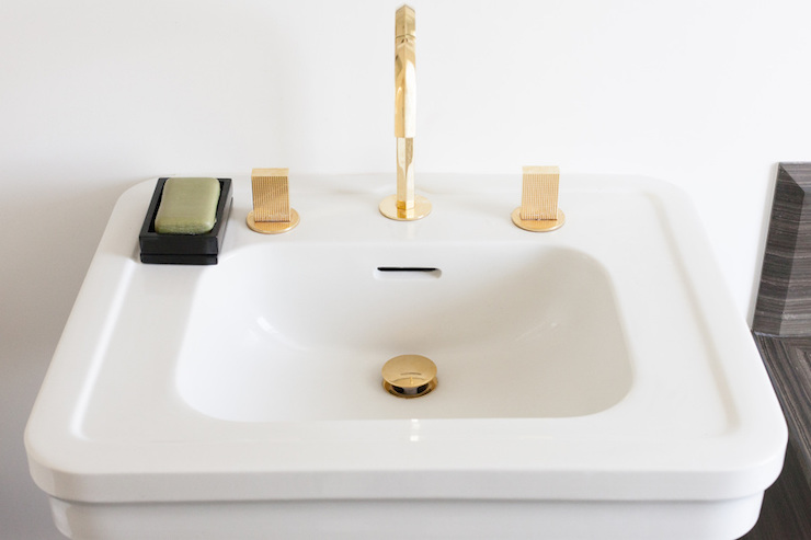 Gold Gooseneck Bathroom Sink Faucet