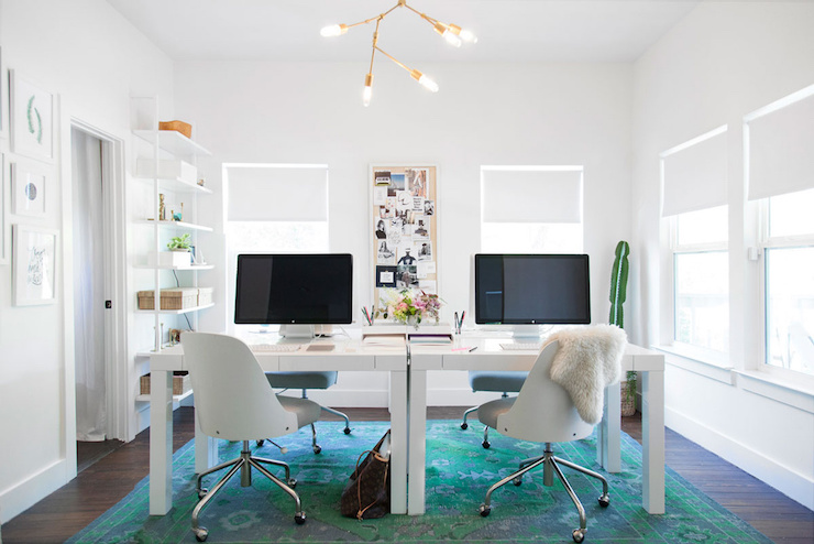 Image result for teal turquoise office