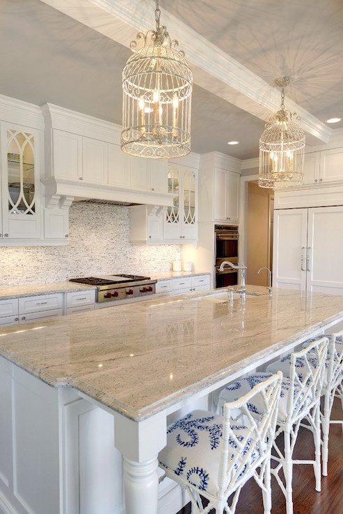 Gray And White Granite Countertops