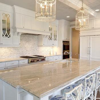 Unique kitchen chandeliers design ideas gray and white granite countertops mozeypictures Image collections